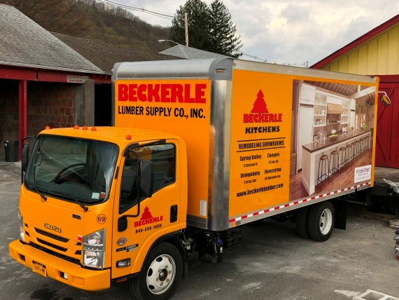 BECKERLE LUMBER ONE WITH DELIVERIES                                                  YES WE DELIVER                Stay Safe this summer                      Thanks for your business.
