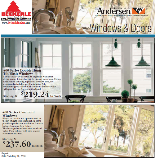 Lumber One When It Comes To Andersen Windows