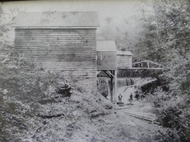 Philip's Lumber Mill in Pearl River NY circa 1880  (where Laurence Thomas Beckerle I, got his new york lumber experience and also broke his leg working the mill)